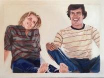 12x9 gauche on canvas, 2013